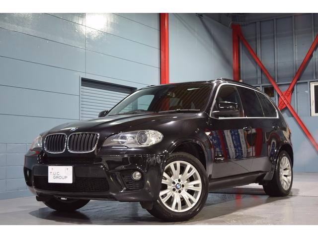 BMW xDrive35i Mスポーツ 後期 黒革 SR 2年保証付