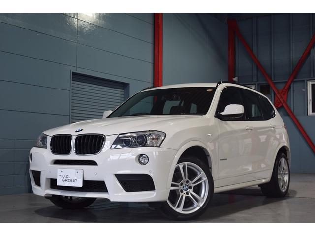 BMW xDrive28iMスポ中期 黒革 SR ナビTV 2年保証