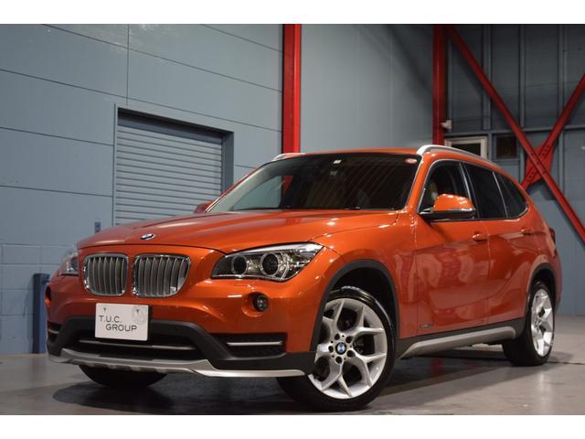 BMW X1 xDrive20iXライン 後期 1オナ 革 ナビ...