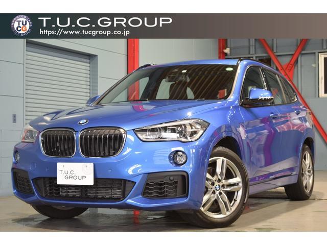 BMW X1 sDrive 18i Mスポーツ ADセーフティP コンフォートP ハイラインP ACC ヘッドアップD コンフォA 黒革 HDDナビ LEDヘッドライト 自動Rゲート 新車保証付