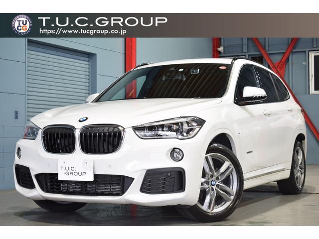 BMW X1 sDrive 18i Mスポーツ コンフォートPKG 1オーナー コンフォA 専用シート HDDナビ LEDヘッドライト 自動Rゲート PDC スライディングリアシート 2年保証付