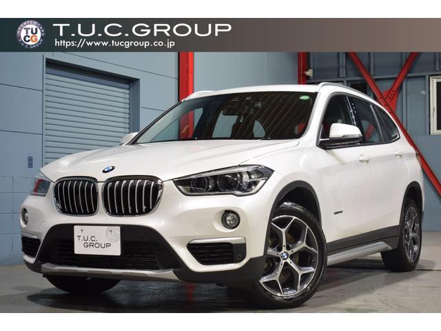 BMW sDrive 18i xライン ADセーフティPKG 後期 1オーナー ACC ヘッドアップD コンフォA 半革 HDDナビ キセノン 新車保証