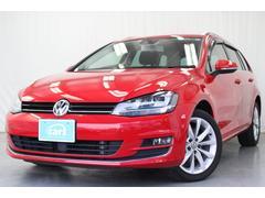 VW ゴルフヴァリアントTSIハイラインBMT 純正ナビBカメラ 禁煙ワンオーナー