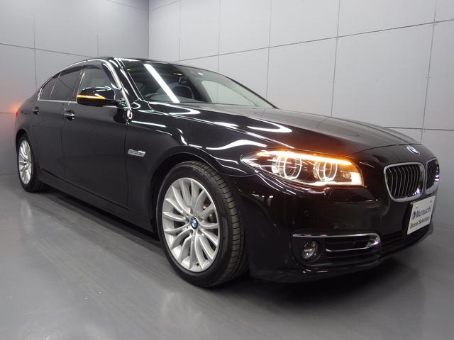 BMW 528iラグジュアリー ブラックレザーシート