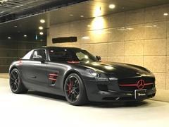 SLS AMGマットブラックエディション ディーラー車 左ハンドル