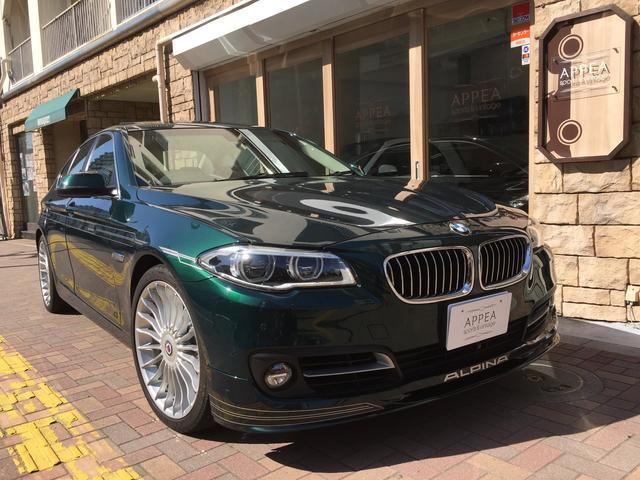 BMWアルピナ ターボ リムジン 後期モデル D車 LEDヘッド ガラスSR