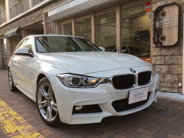 BMW アクティブハイブリッド3 Mスポーツ 左H ベージュ本革内装