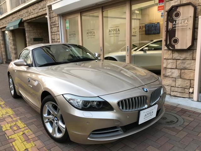 BMW Z4 sDrive35i 左H 直6ターボ ベージュ本革...