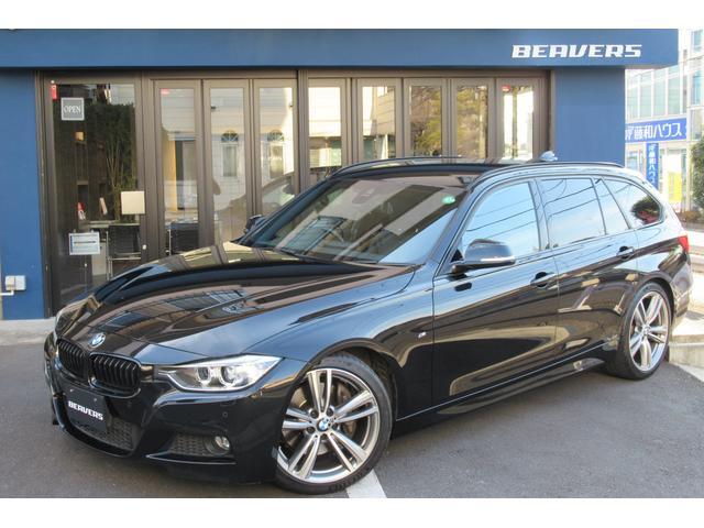 BMW 335iツーリング Mスポーツ 直6ターボ 純ナビBカメラ地デジ 黒革シートヒーター パワーテールゲート M19インチAW インテリセーフ