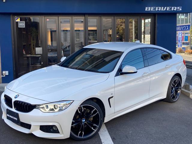BMW 420iグランクーペ Mスポーツ ワンオーナー/ACC/キセノン/18インチアルミホイール/HDDナビ/バックカメラ/パドルシフト/パワーゲート/パワーシート/コンフォートアクセス/