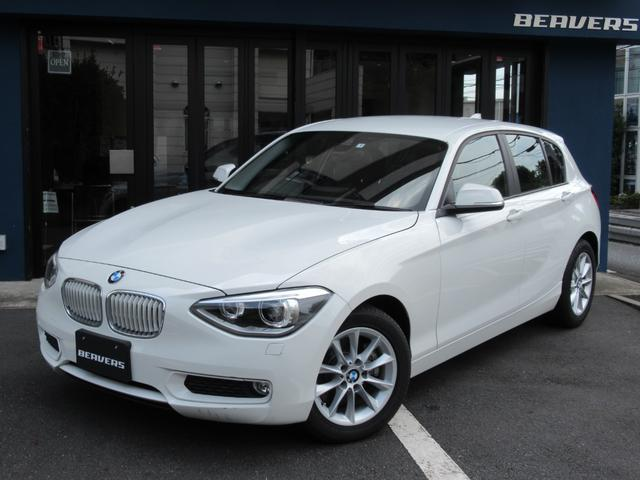 BMW 116i ワンオーナー 黒革シート 純正HDDナビ パーキングセンサー バックカメラ ETC  禁煙車