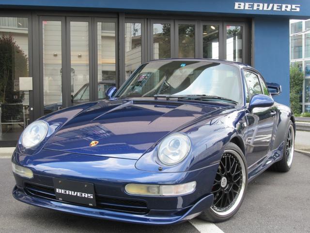 ポルシェ 911 911カレラ 後期ヴァリオラムエンジン ティプトロニックS エクスクルーシブ 内装カーボンパネル 社外18インチアルミホイール ブルーレザーシート
