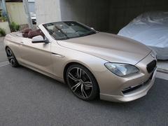BMW650iカブリオレ シャンパンゴールド 黒幌