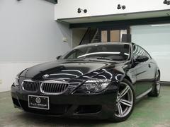 BMW M6後期最終 コンフォA 黒革 カーボンR HDDナビ 2年保証