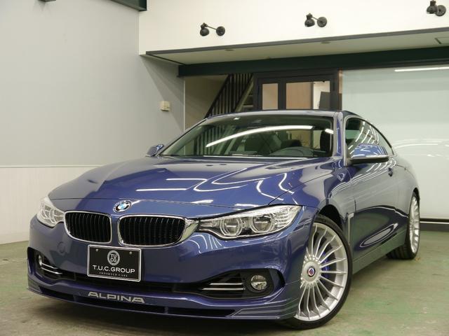 BMWアルピナ ビターボクーペ ニコルD車 黒革 純正ナビ 2年保証