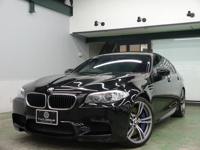 BMW M5 1オナ 黒革 SR ナビTV OP20AW 2年保証
