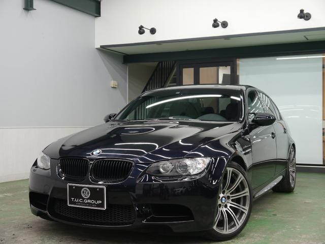BMW M3セダンMドライブP 黒革 純正ナビ 19AW 2年保証