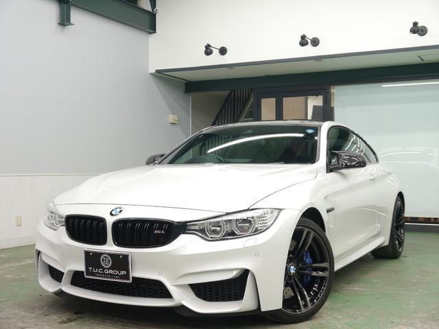 BMW M4クーペ アダプティブMサス フルレザーメリノ 2年保証