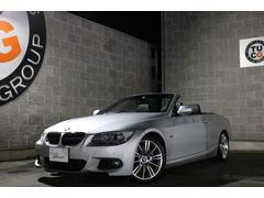 BMW335iカブリオレ Mスポ コンフォA 黒革 ナビ 2年保証