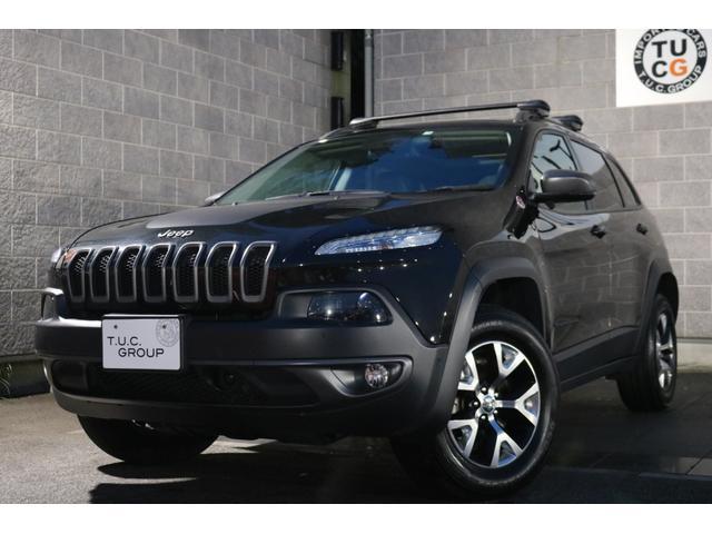 クライスラー・ジープ トレイルホーク 1オナ 半革 パノラマR ナビTV 新車保証