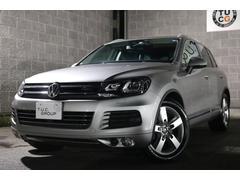 VW トゥアレグハイブリッド テクノロジーP 黒革 ナビTV  2年保証