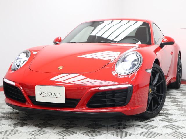ポルシェ 911 911カレラ カレラ 左H 7MT スポーツクロノ LEDヘッドライト 20インチ純正アルミ GTスポーツステアリング 可変式リアウイング 純正ナビ ETC 1オーナー バックカメラ スポーツシートプラス