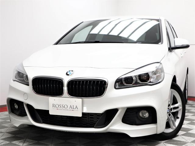 BMW 2シリーズ 218dアクティブツアラー Mスポーツ インテリジェントキー インテリジェントセーフティ ナビフルセグ バックカメラ リアPDC パワーテールゲート アルカンターラスポーツシート ステアリモコン パドルシフト 17インチAW