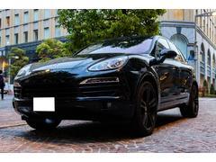 ポルシェ カイエンS ブラックアウト 4800ターボ同排気量 内装カーボン