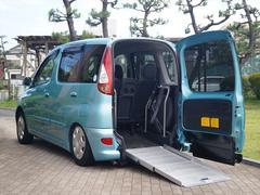 ファンカーゴX 福祉車両 車いす仕様車 スロープタイプ