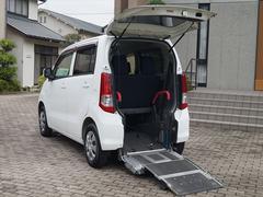 ワゴンR福祉車両 スローパー車椅子移動車