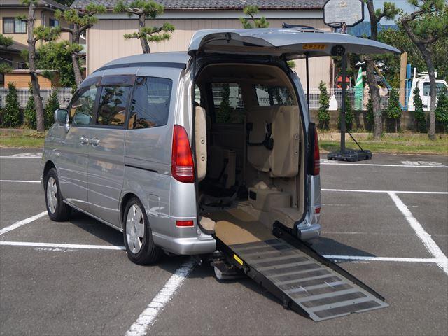 日産 福祉車両 チェアキャブ スロープタイプ補助席付