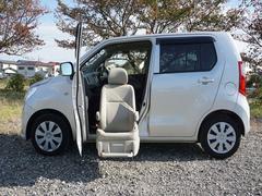 ワゴンR昇降シート車助手席回転リモコン付リフトアップ福祉車両禁煙車