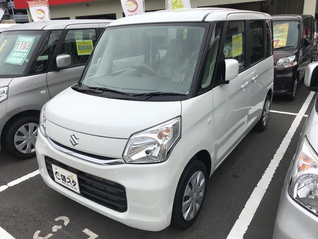 スズキ G 軽自動車 インパネCVT エアコン 届出済未使用車