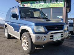 パジェロミニVターボ パートタイム4WD レカロシート社外15インチAW