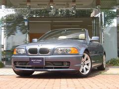 BMW330Ciカブリオーレ ベージュ革シート