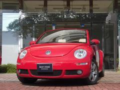 VW ニュービートルカブリオレLZ 後期型 ベージュソフトトップ