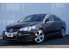 VW ジェッタ2.0 ローダウン・同色モール・GT用17AW・赤キャリパー