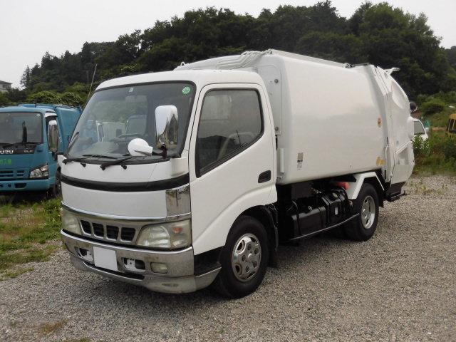 日野 2t積 極東製プレスパッカー車4.6立米 4.0DT型式PD