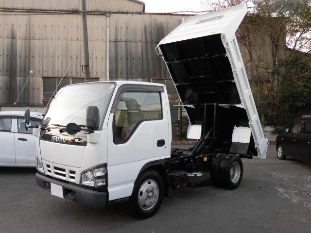 いすゞ 2t積 全低床強化ダンプ 4.8Lディーゼル 型式PB