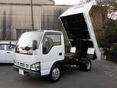 エルフトラック2t積 全低床強化ダンプ 4.8Lディーゼル 型式PB
