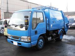 エルフトラック2t積 極東製プレスパッカー車4.2立米 4.6LPG
