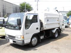 エルフトラック2.15t積 モリタ製プレスパッカー車4立米 4.6L−D