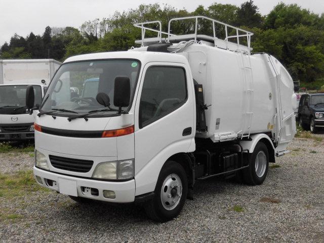 日野 2t積 極東製プレスパッカー車4.2立米 4.6Lディーゼル