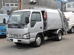 エルフトラック2t積 富士車輌製プレスパッカー4.2立米4.8Lディーゼル