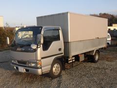エルフトラック3t積 標準ロングリンボーバン 4.8Lディーゼル