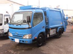 ダイナトラック2t積 新明和製プレスパッカー4.3立米 4.1LPG車