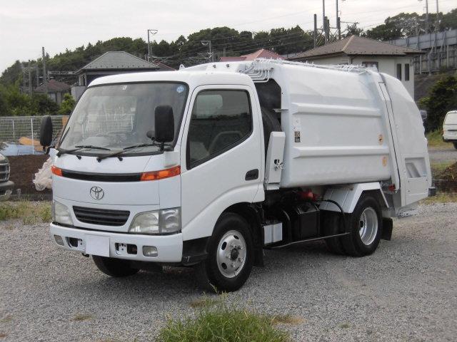 トヨタ 2t積 新明和製プレスパッカー4.2立米 4.9Lディーゼル