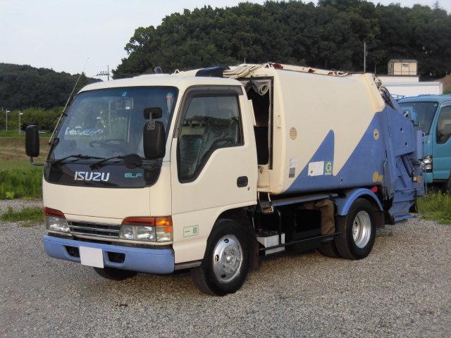 いすゞ 2t積 極東製プレスパッカー4.2立米 4.3Lディーゼル