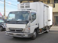 キャンターディーゼル 冷蔵冷凍車 パワーゲート付き 積載2トン