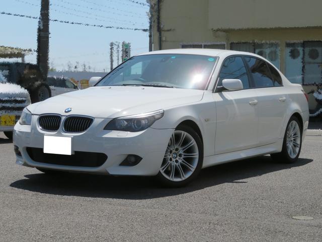 BMW 5シリーズ 525i Mスポーツパッケージ キーレス2個 キセノン ETC ハーフレザーシート